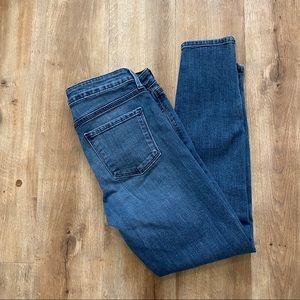 Just Black Medium Wash Skinny Jeans Size 27P